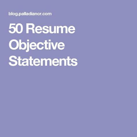 Objective of mis resume